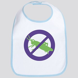 No Grasshoppers Bib
